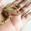 mini crystal hoops melaniemarie.com